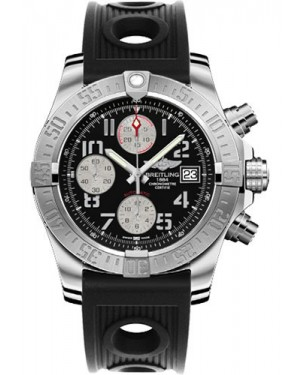 Exact Replica Breitling Avenger II Black Ocean Racer Strap Black Dial A1338111/BC33 Watch