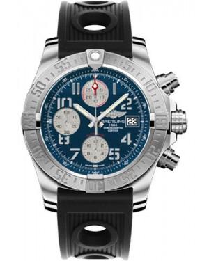 Exact Replica Breitling Avenger II Black Ocean Racer Strap Blue Dial A1338111/C870 Watch
