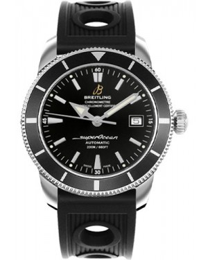 Exact Replica Breitling Superocean Heritage 42 Black Ocean Racer Strap A1732124/BA61 Watch