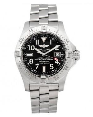 Replica Breitling Avenger Seawolf Steel Black Dial A1733010/B906 Watch
