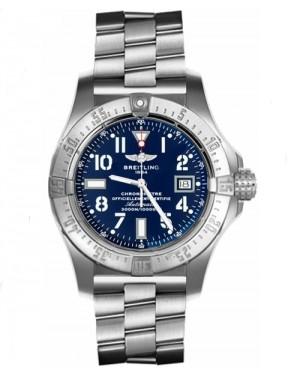 Replica Breitling Avenger Seawolf Steel Blue Dial A1733010/C756 Watch