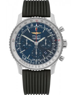Exact Replica Breitling Navitimer 01 AB012721/C889 46mm Stainless Steel Rubber Strap