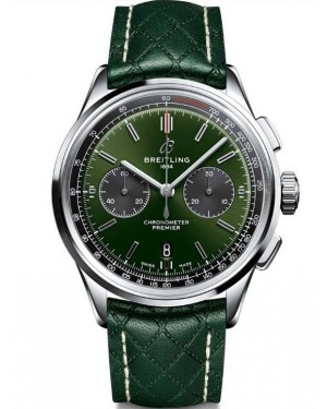 Replica Breitling Bentley Premier B01 Chronograph Green Dial 42mm AB0118A11L1X1
