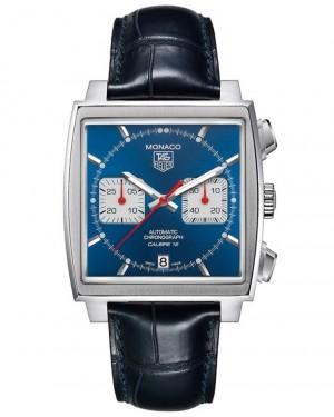 Replica Tag Heuer Monaco Steve McQueen Calibre 12 Automatic Chronograph CAW2111.FC6183