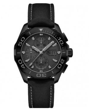 Replica TAG Heuer Aquaracer 300M Calibre 16 Black Phantom Chronograph CAY218B.FC6370