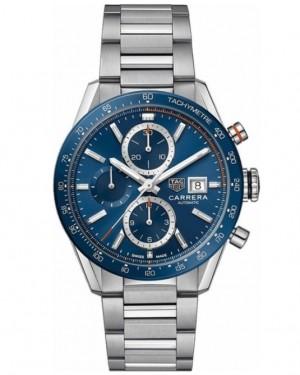 Replica Tag Heuer Carrera Calibre 16 Chronograph 41mm Blue CBM2112.BA0651 Watch