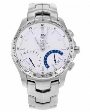 Replica Tag Heuer Link Calibre S Chronograph Silver Dial CJF7111.BA0592