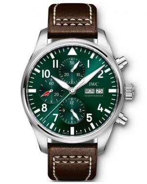 Replica IWC Pilot's Chronograph Racing Green IW377726 Watch