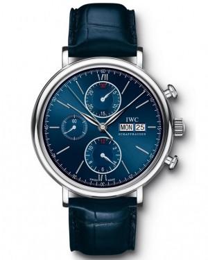 Replica IWC Portofino Chronograph Laureus Blue IW391019 Watch