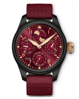Replica IWC Big Pilot's Perpetual Calendar Lewis Hamilton IW503002 Watch