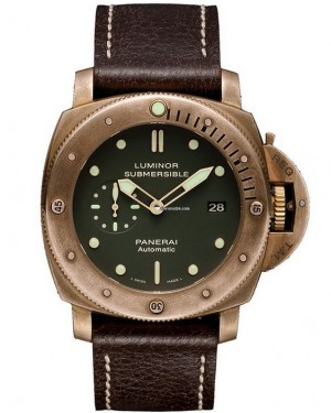 Replica Panerai Luminor Submersible 1950 3 Days Bronzo PAM00382 Limited Edition