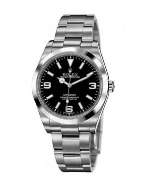 Replica Rolex Explorer 214270 Black Dial Watch