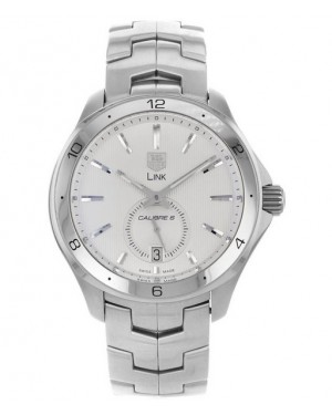 Replica Tag Heuer Link Calibre 6 Automatic Silver Dial Watch WAT2111.BA0950