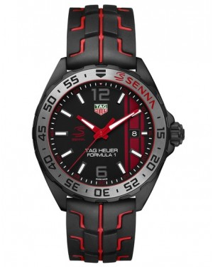 Replica Tag Heuer Formula 1 Senna Special Edition Watch WAZ1014.FT8027