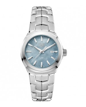 Replica TAG Heuer Link Lady Steel Mother-of-pearl Dial Blue WBC1311.BA0600