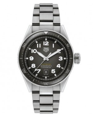 Replica Tag Heuer Autavia Isograph Black WBE5110.EB0173 Watch