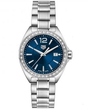 Replica Tag Heuer Formula 1 Ladies Diamond Blue Dial WBJ1416.BA0664 Watch