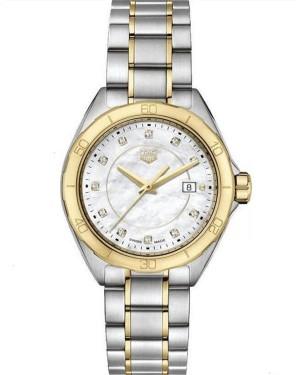 Replica Tag Heuer Formula 1 Ladies Diamond White Mother of Pearl Dial WBJ1421.BB0648 Watch