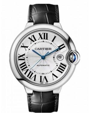 Replica Cartier Ballon Bleu 42mm Silver Dial WSBB0026