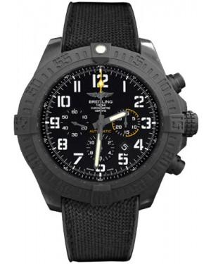 Exact Replica Breitling Avenger Hurricane Military Rubber Strap Black Dial XB0170E4/BF29 Watch